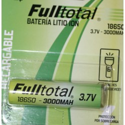 bateria de litio de3700ma reales