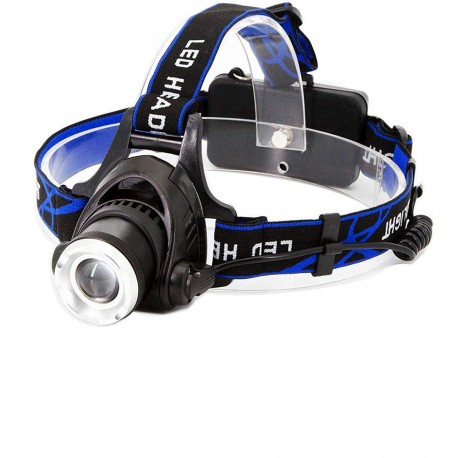 LINTERNA MINERA HEAD LAMP RECARGABLE